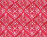 Premier Prints Avila Raspberry/Slub Canvas