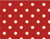 Ikat Dots Primary Red Natural