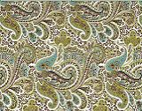 Premier Prints Paisley - Chocolate/Natural