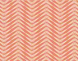 Al Fresco Shell Herringbone Coral