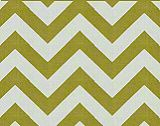 Premier Prints Zig Zag  - Village Green/Natural