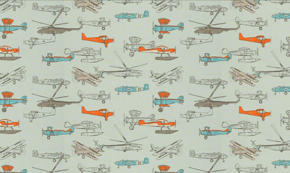 Premier Prints Inc. - VINTAIRMAN fabric image
