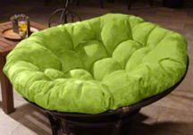 custom papasan cushions