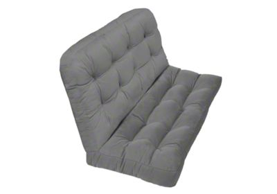 tufted wicker loveseat cushions