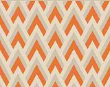 Premier Prints Zapp-Mandarin Orange/Natural